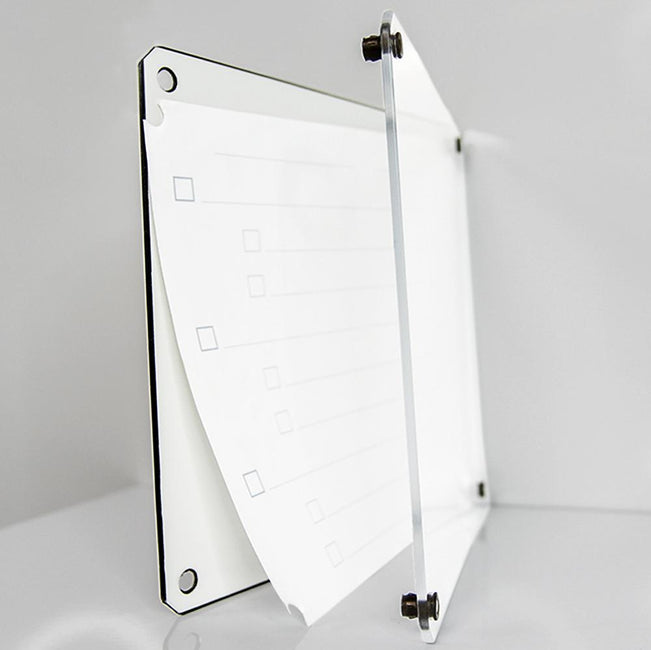 Dry-Erase 3-Dimensional Whiteboard Tablet, 16-Pack