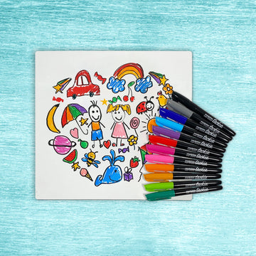 Washable Whiteboard Coloring Kit