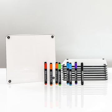 Dry-Erase Tablets, 8-Pack