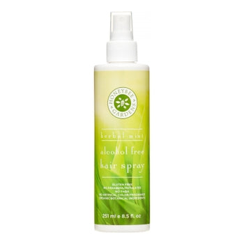 Honeybee Gardens Natural Cosmetics & Body Care - Herbal Mint Alcohol Free Hair Spray