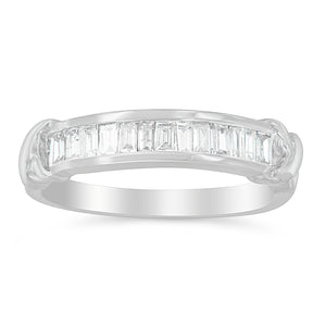 Sterling Silver 1/2 ct TDW Diamond Band Ring (H-I, I1-I2)