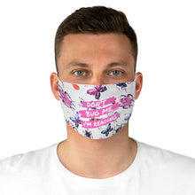 Load image into Gallery viewer, Don't Bug Me I'm Reading Fabric Face Mask