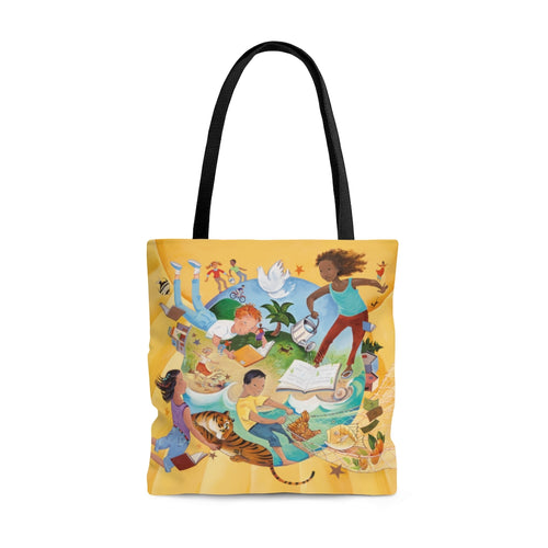 Changing the World, One Child at a Time Tote Bag