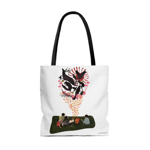 Hear Our Stories Tote Bag