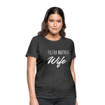 Filthy Mouthed Wife shirt, T-shirt, Anti Trump, Unapologetic, Raging Feminist, Trending #filthyMouthedWife, Resist, Protest Women's T-Shirt - heather black