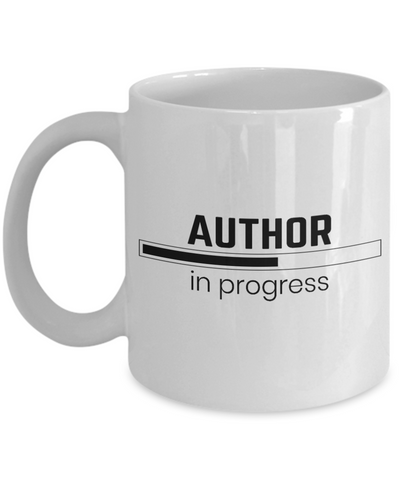 Author in progress Coffee Mug