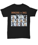 Dungeons and Dogs Choose Your Fighter DnD RPG Unisex Dungeons and Dragons T-shirt