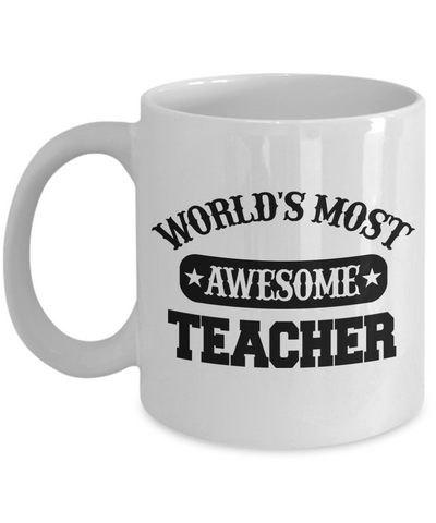 Worlds Most Awesome Teacher