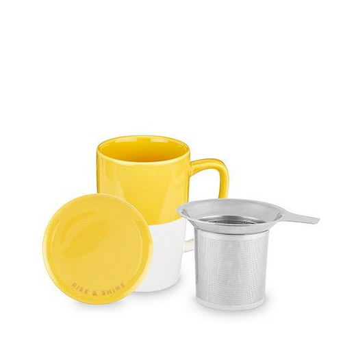 Tea Mug & Infusers Yellow