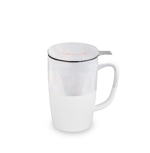 Tea Mug & Infusers White