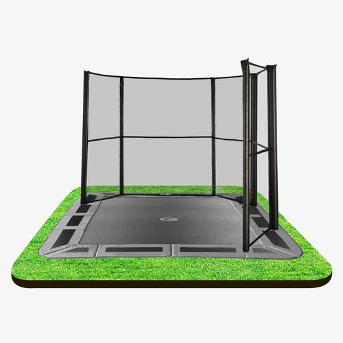 Corner net 14ft X 10ft Capital In-ground Safety Net - Corner