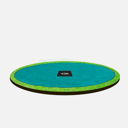 10ft (Black) 10ft Capital In-ground Trampoline Cover