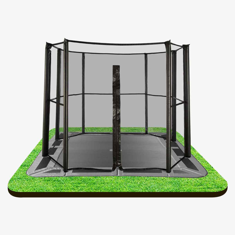 full safety net for 11ft x 8ft in-ground trampoline