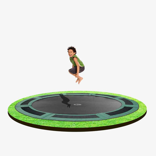 10ft  Round Capital In-ground Trampoline