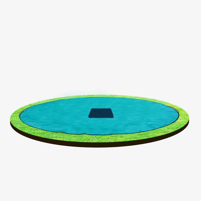 8ft Capital In-ground Trampoline Cover - Green
