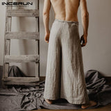 Incerun Unisex Thai Fisherman Pants