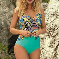 ASKATE Sexy Print Push-Up Swimsuit