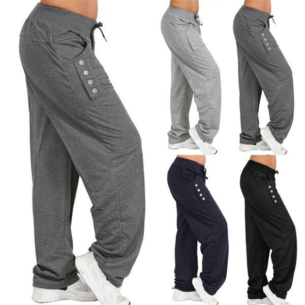 Men's Wide-Leg Harem Yoga Pants