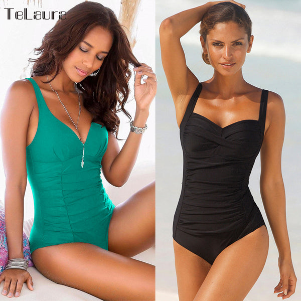 Women's one piece swimsuit