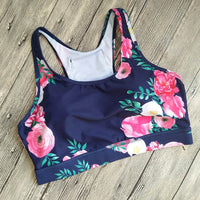 Women Yoga Top Female with Phone Pocket