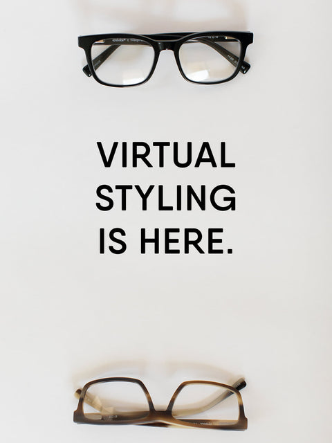 Virtual Styling Is Here! Personalized frame fittings online for free