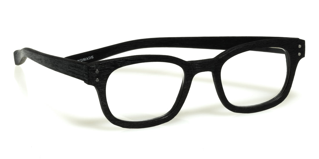 Butch Color 00 - Black with a matte woodgrain finish