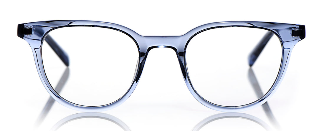 Eleanor Color 10 - Periwinkle Crystal Front and Temples