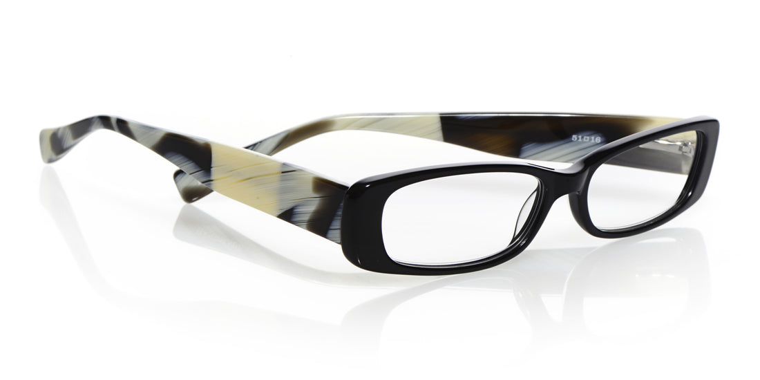 Co-Conspirator Color 18 - Black front with horn temples