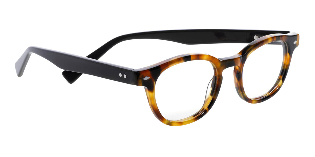 Bitty Witty Color 19 - Tortoise front with black temples