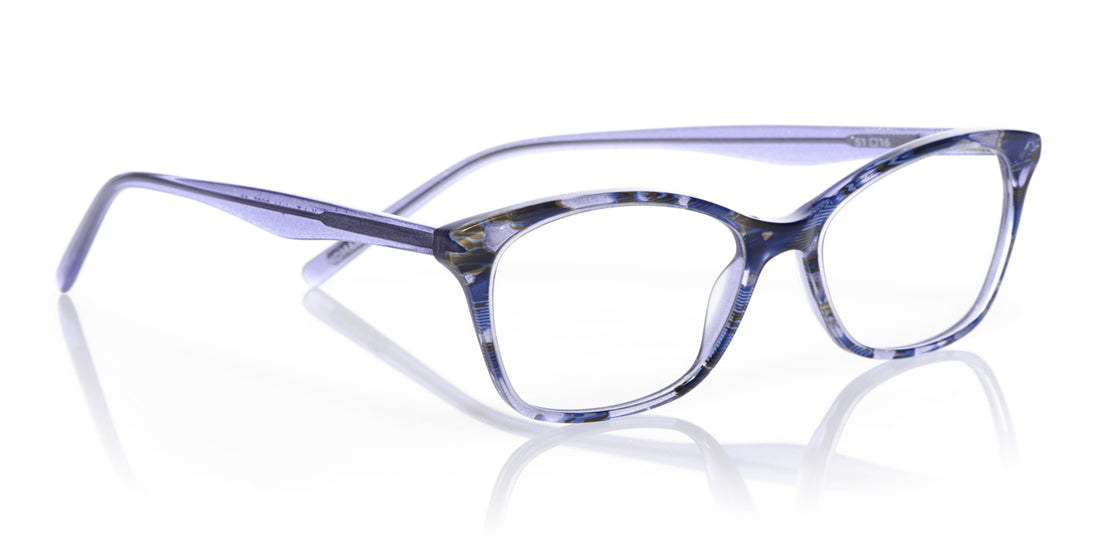 Not Tonight Color 10 - Blue Multi Front and Temples