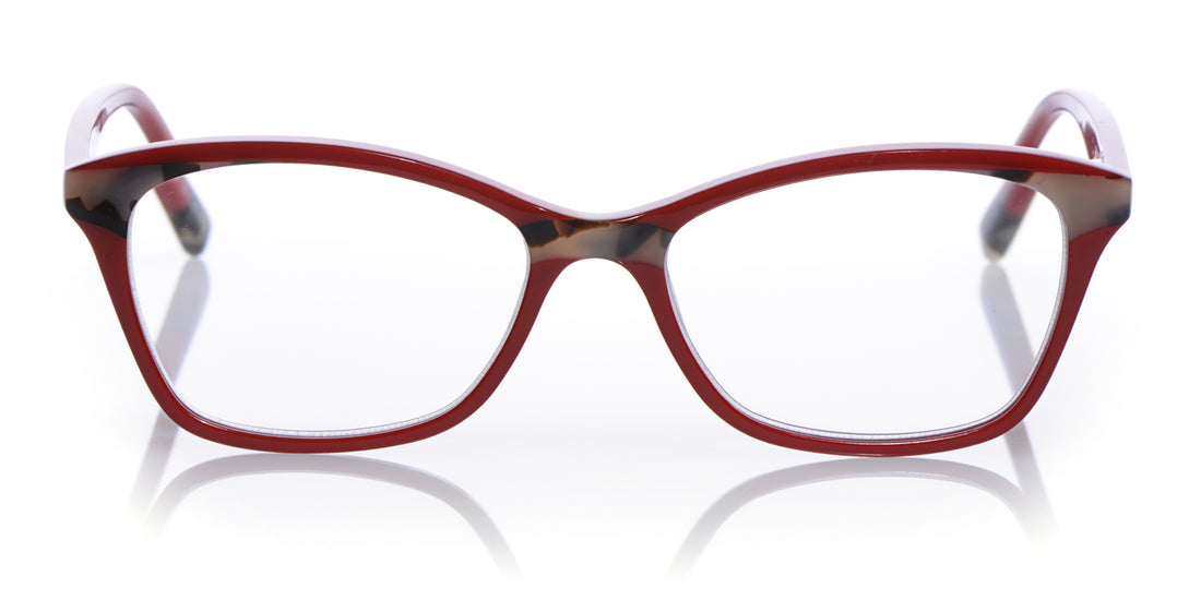 Not Tonight Color 01 - Red with Black and White Tortoise accents