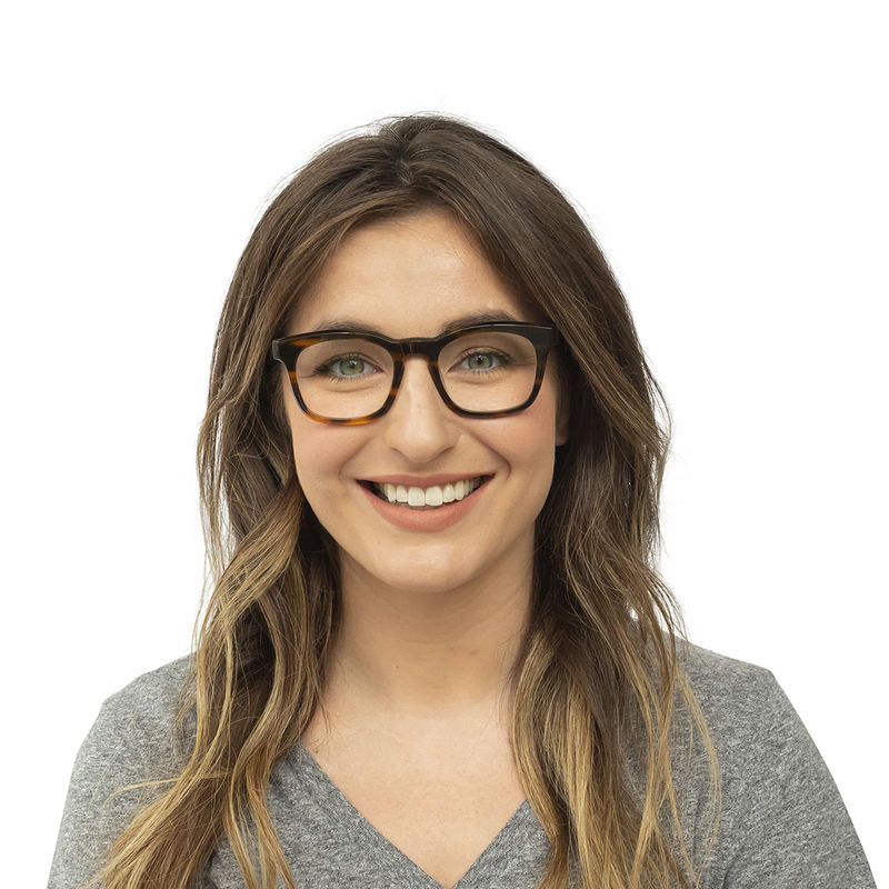 Humble Narrator Female Reading Glasses Blue Light