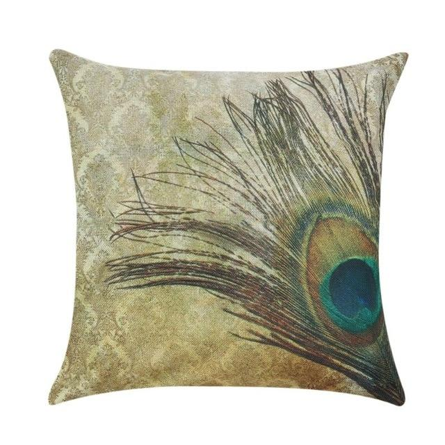 Linen Cushion Covers Throw Pillowcase