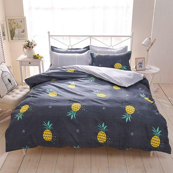 Pineapple Plant Pattern Bedding Sets