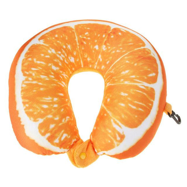 3D Fruit U Shaped Pillow