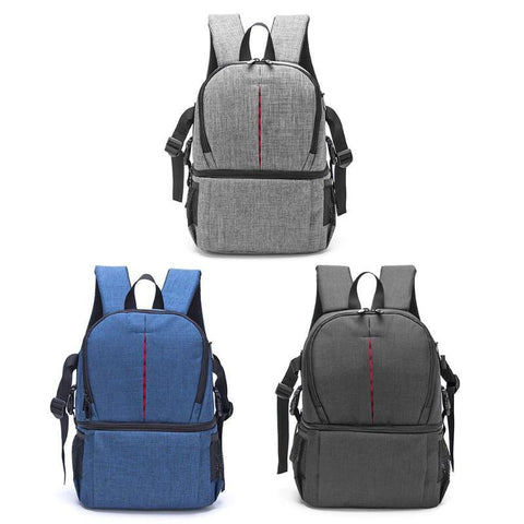 Photo Camera Soft Padded Backpack