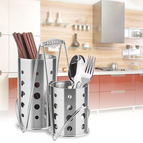 Chopsticks tube Knives Forks Cage