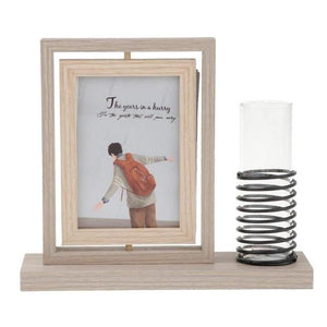 Double Sided Glass Photo Frame