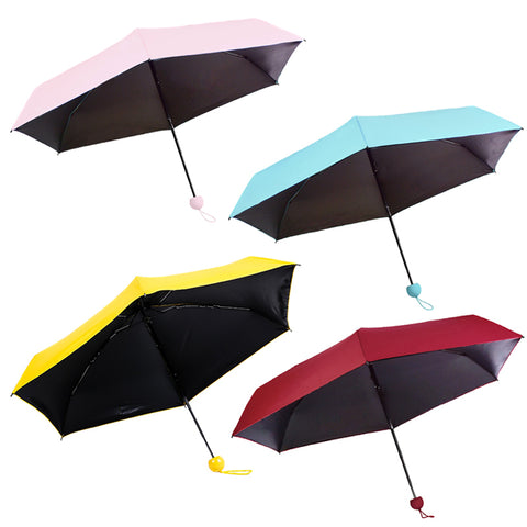Women Mini Funny  Sun Umbrellas