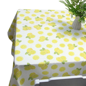 Yellow Lemon Pattern Tablecloth