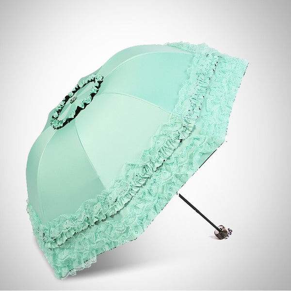 Lace Flower Double Layer Umbrellas