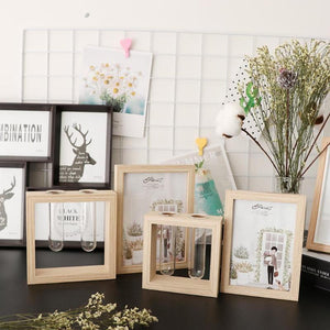 Creative Double Sided Photo Frame