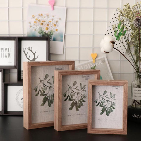 Double Sided Traditional Photo Frame