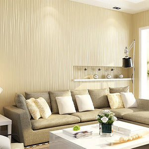 Living Room Simple Striped Wallpaper