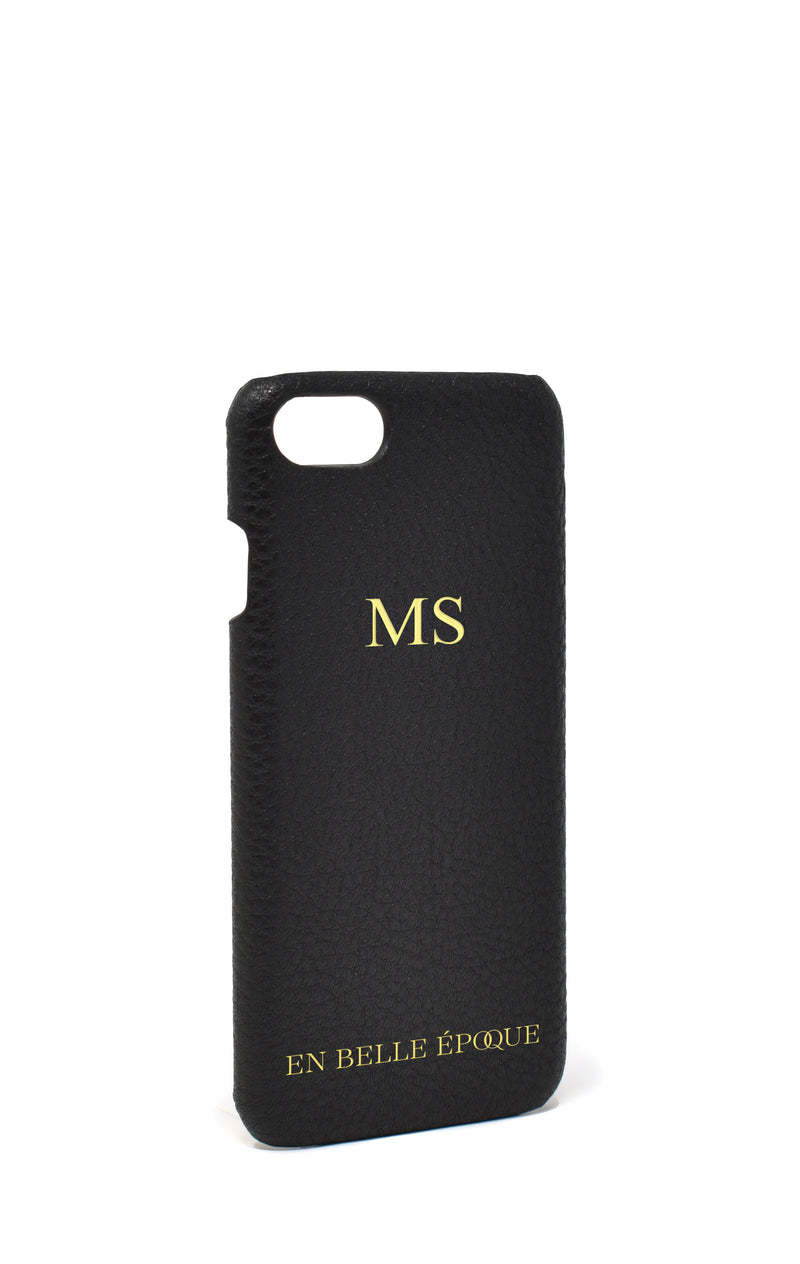 IPHONE 7 & 8 CASE IN LE MANS BLACK