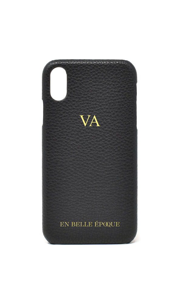 IPHONE XR CASE IN LE MANS BLACK