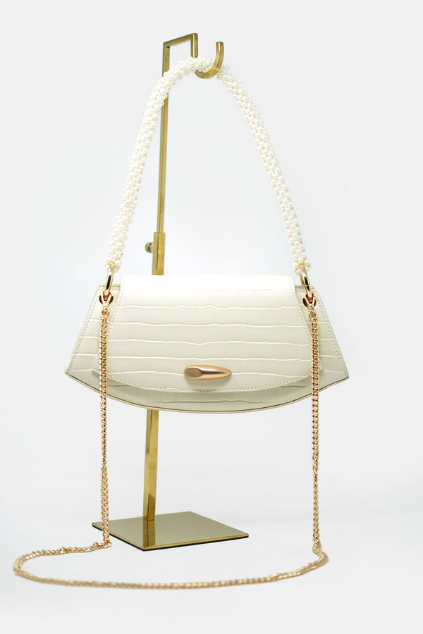 Ella Textured Leather Bag