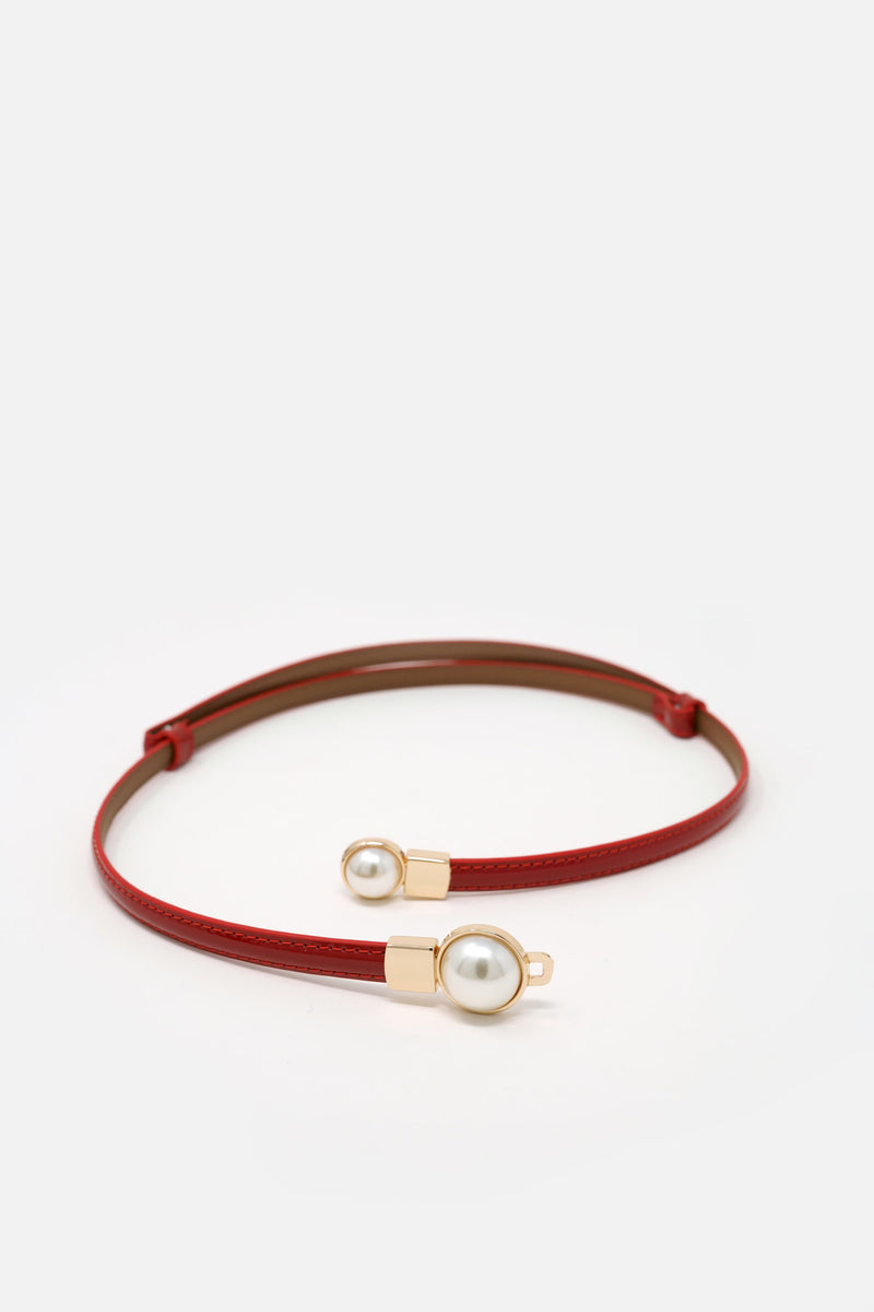 Odette Leather Waist Belt