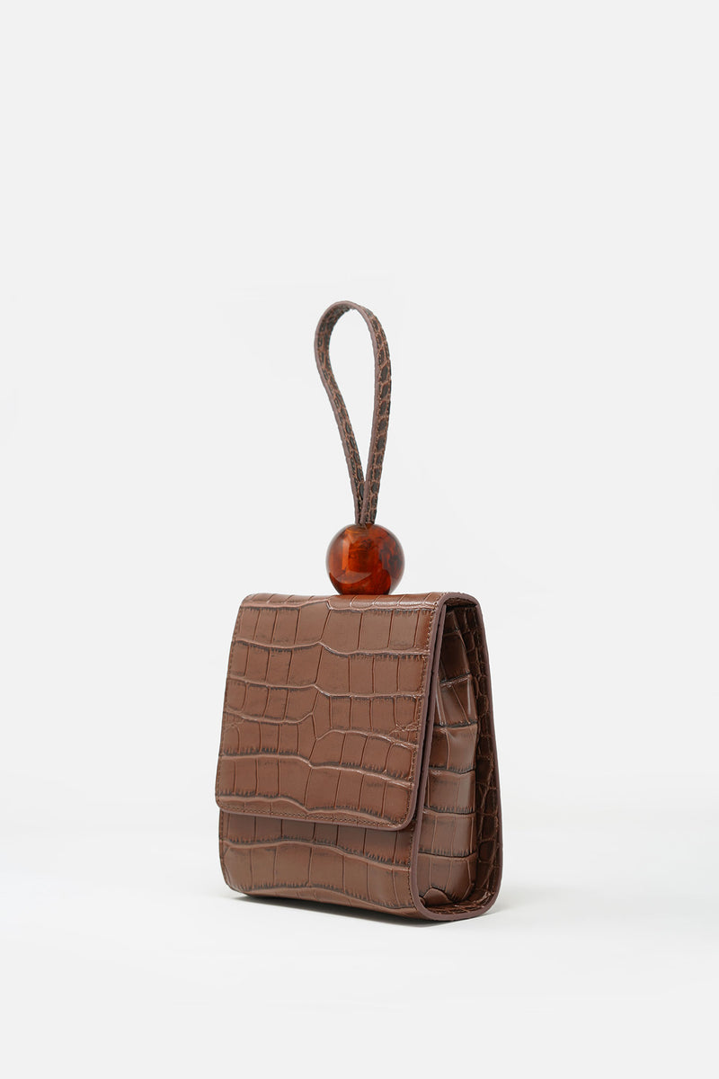 Emmy Textured Leather Bag