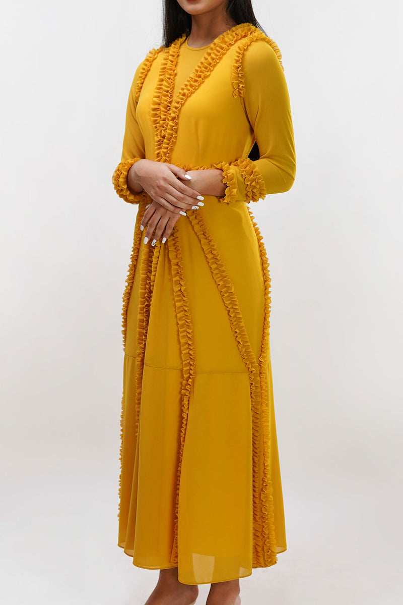 Emmalyn Yellow Dress